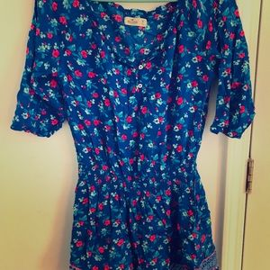 Hollister Mini 3/4 Sleeves Dress